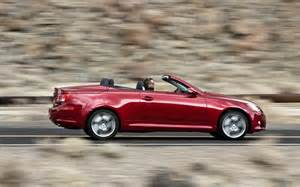2010 lexus is 350 convertible side view photo 12