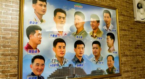 styles of haircuts allowed in north korea ask a north korean where do north koreans get their hair