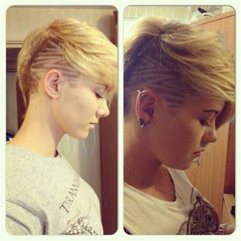 shaven hairstyle totorial tatuaggi capelli alla moda e disegni immagini e video
