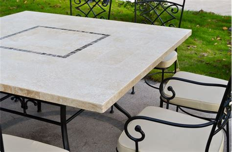 Granite Top Outdoor Dining Table 140x140cm Outdoor Indoor Square Marble Dining Table