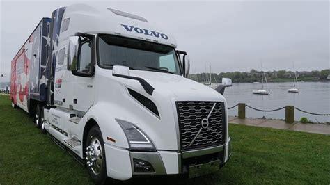 volvo presents americas road team   vnl  truck truck paper blog