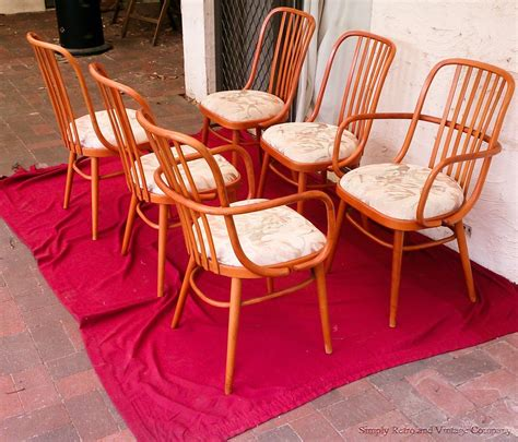 Ligna Bentwood Chairs by Ligna Drevounia Dining Chairs Arm Chair Bentwood Mid