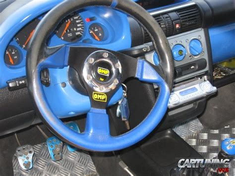 Opel Tigra Interior by Tuning Opel Tigra 187 Cartuning Best Car Tuning Photos