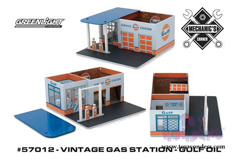 Diorama Mechanics Corner Series 1 Vintage Gas Station Texaco By Gl greenlight dioramas mechanic s corner series 1 vintage gas station gulf 57012 1 6 scale