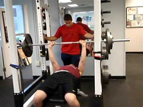 185 bench press ridgewood junior lineman 185 lb bench test for 15 reps