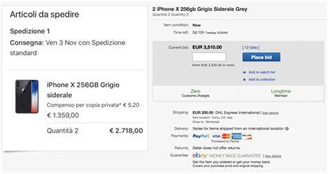 ebay iphone x o iphone x j 225 est 225 224 venda no ebay pelo dobro do pre 231 o