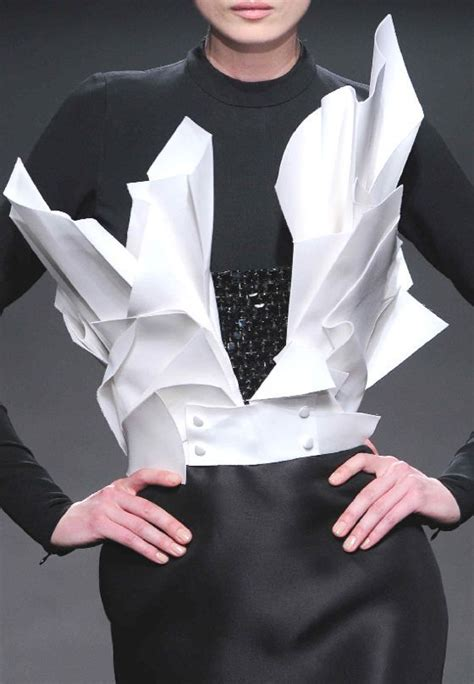 Origami In Fashion - 25 best ideas about origami fashion on