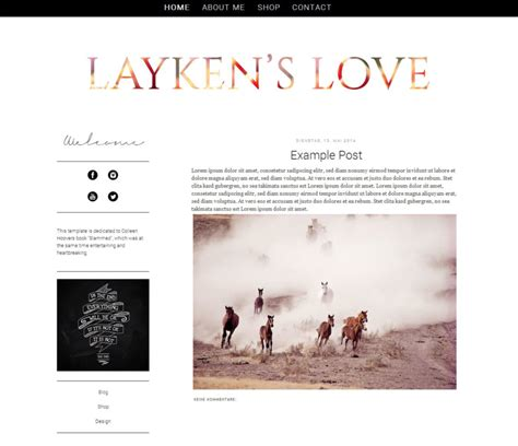 premade blogger template laykens love 2 column by mioli1