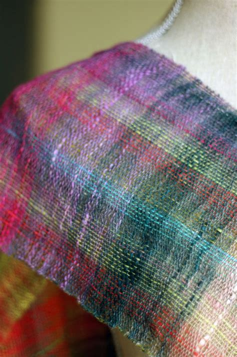 weave pattern in french french press knits weaving with noro plain weave isn t