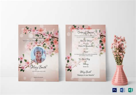 free eulogy card templates eulogy template 10 free pdf documents free