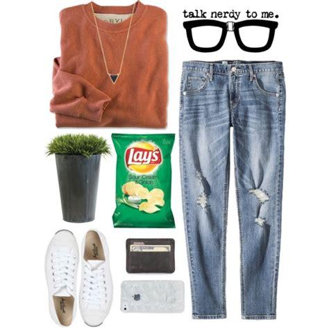 Hq 11407 Denim Plaid Combined Shirt nerdy with glasses