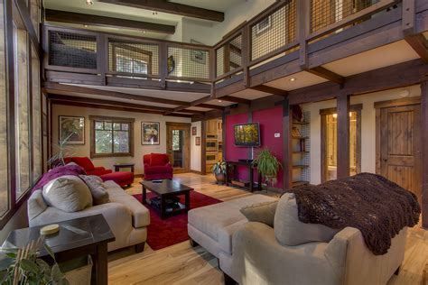 Southwest Home Floor Plans moonlight lodge balances elegance and function tahoe