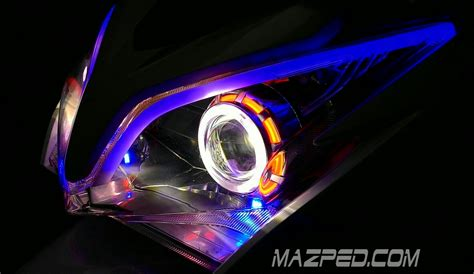 Lu Led Bumper Mobil modifikasi headl mazpedia