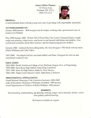 Resume Sample For First Job by Nhs Designs Design Principles Repetition