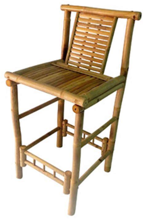 tiki bar stools australia bamboo tiki bar stool with back support 18x45 set of 2