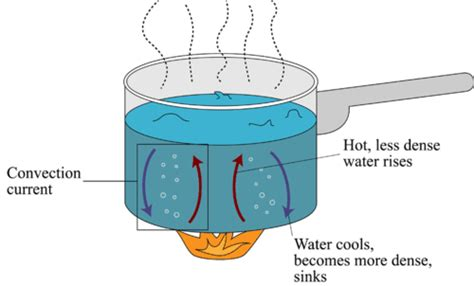 exle of convection convection read physical science ck 12 foundation
