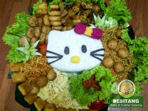 cara membuat bento nasi kuning hello kitty cara menghias tumpeng a collection of art ideas to try