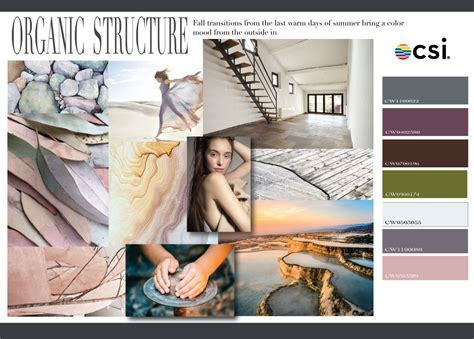 Color Palettes For Home fall winter 2018 2019 color analysis organic structure