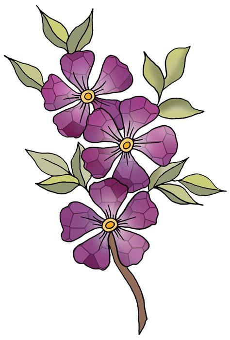 violet clipart violet flower clipart clipart suggest