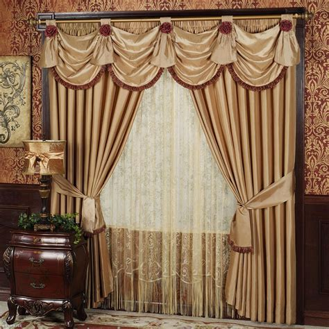 window valances for living rooms