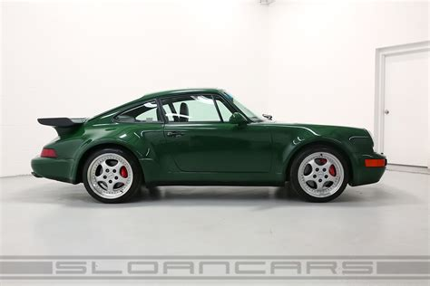 green porsche 1994 porsche 964 3 6 turbo paint to sle green