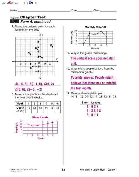 holt mathematics course 3 answers holt mathematics course 1 worksheets 10 3 holt best free