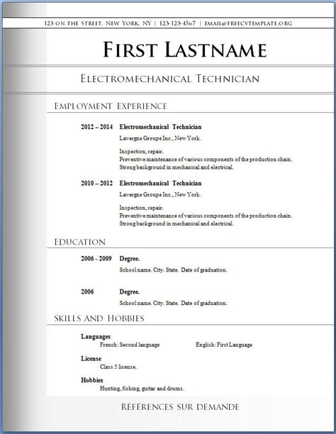 free resume app learnhowtoloseweight net