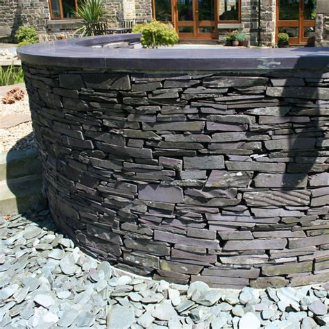 slate walling cut landscaping specialised