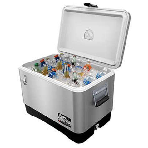 igloo 174 54qt stainless steel cooler