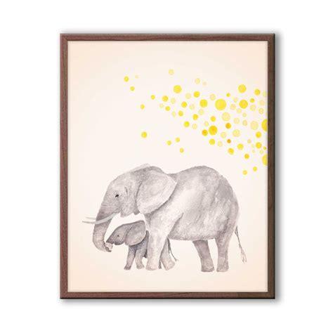 Baby Nursery Decor Elephant Nursery Art Kids Wall Art Nursery Elephant Decor