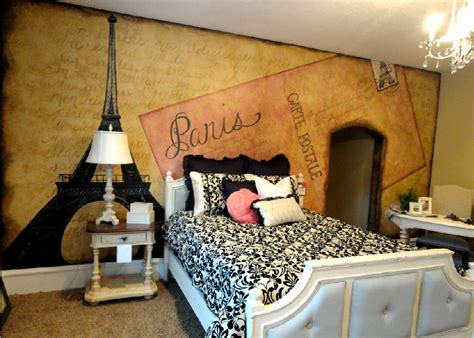 themed bedroom bawden fine murals paris themed room