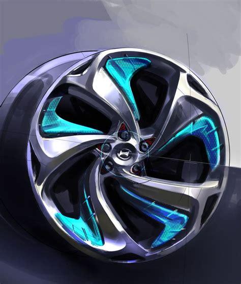 Auto Felgen by Hyundai I Flow Concept Wheel Design Sketch Car
