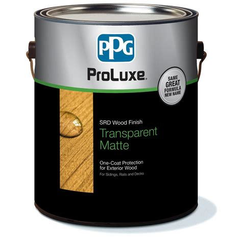 ppg proluxe  gal dark oak cetol srd exterior wood finish
