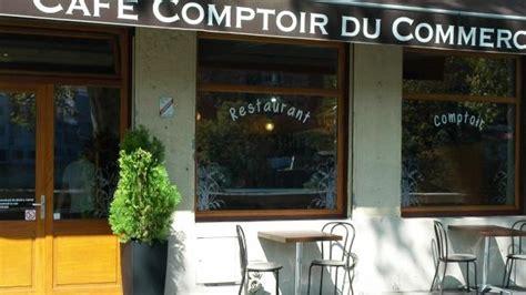 Comptoir Du Commerce by Restaurant Caf 233 Comptoir Du Commerce 224 Lyon 69009 Croix