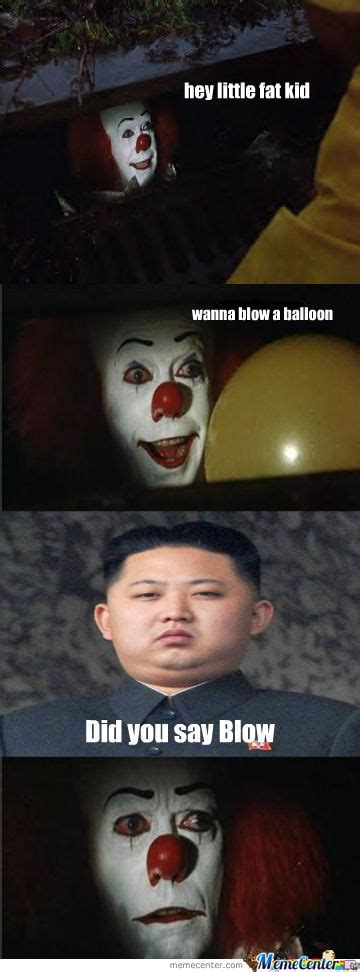 Funny It Memes - even pennywise by thepuppetsaw meme center