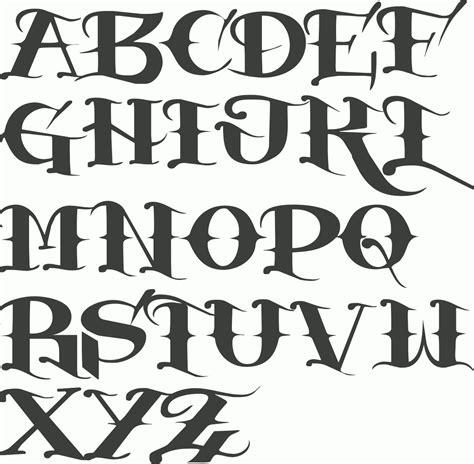 tattoo font gangster gangster alphabet fonts myfonts tattoo fonts graffiti