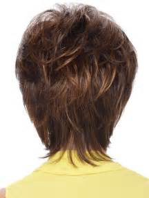back view of shag haircut short hairstyle 2013