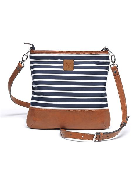 Bodily Bag by S Bailey Across Bag In Navy White From Crew