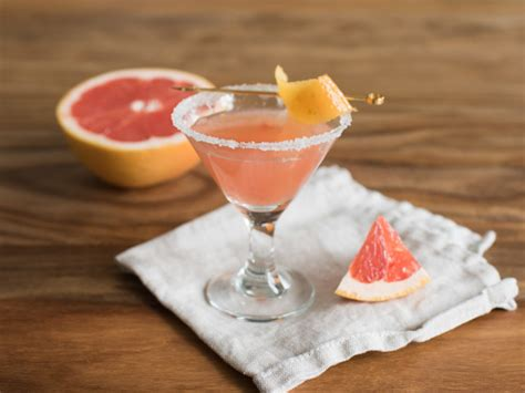 martini grapefruit pink grapefruit martini recipe food com