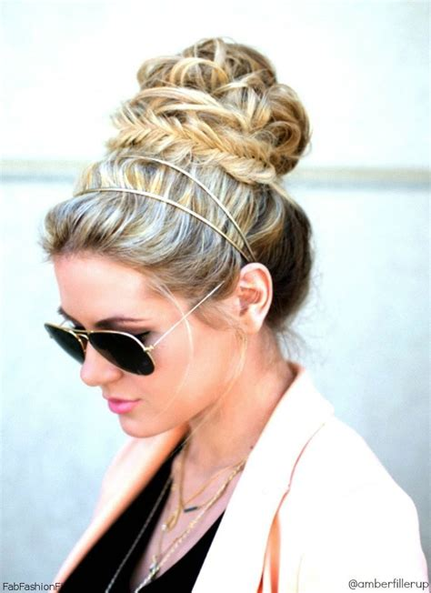 gorgeous headband hairstyles  love pretty designs