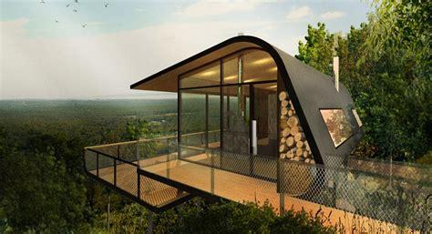 eco cabin aba conceptualizes eco cabins nestled on mount cotton hillside