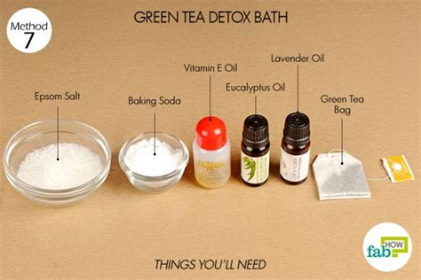 Green Tea Detox Bath by How To Use Green Tea For Beautiful Hair And Skin Fab How