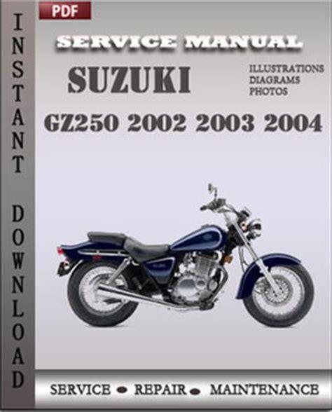 manual repair free 2002 suzuki esteem navigation system suzuki gz250 2002 2003 2004 workshop repair manual pdf servicerepairmanualdownload com