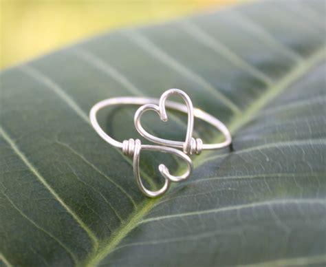 ring diy wobisobi dainty wire rings diy