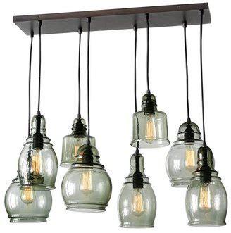 Paxton Glass 8 Light Pendant Pottery Barn Paxton Glass 8 Light Pendant Shopstyle Ceiling Lighting