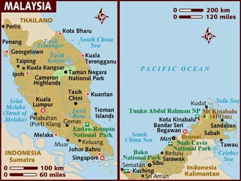 show map of with cities map of malaysia