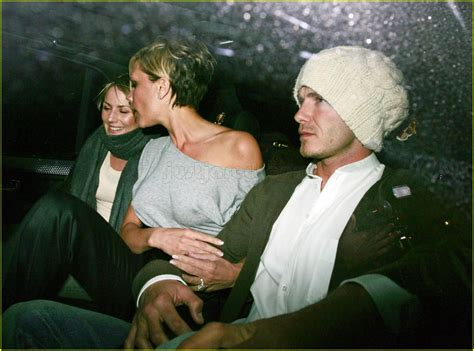 David And Beckham Try To With Diddy by Diddy S Dinner With The Beckhams Photo 2414190 David