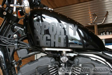 Gabel Tieferlegung Forty Eight by W W Cycles Sportyeight Umbau Special