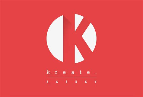 material design logo photoshop kreate agency branding with material design