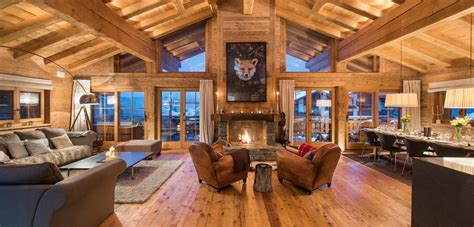 Log Cabin House Designs by Luxury Chalets Luxury Verbier